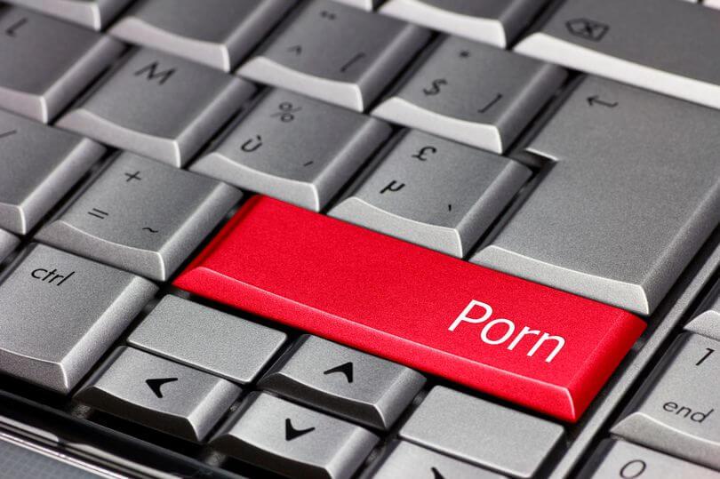 Computer Key Porn